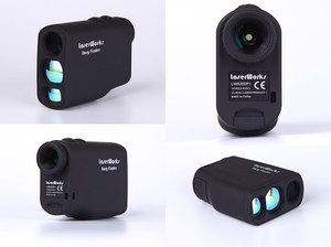 レーザー レンジファインダ 携帯用 距離測定器 距離計 赤外線 望遠鏡 双眼鏡 屋外 防水対応 ハンドヘルドテスター