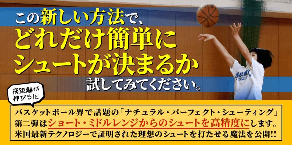 バスケットボール DVD ナチュラルパーフェクトシューティングシステム2〜まったく新しいシュート理論〜精度の高め方