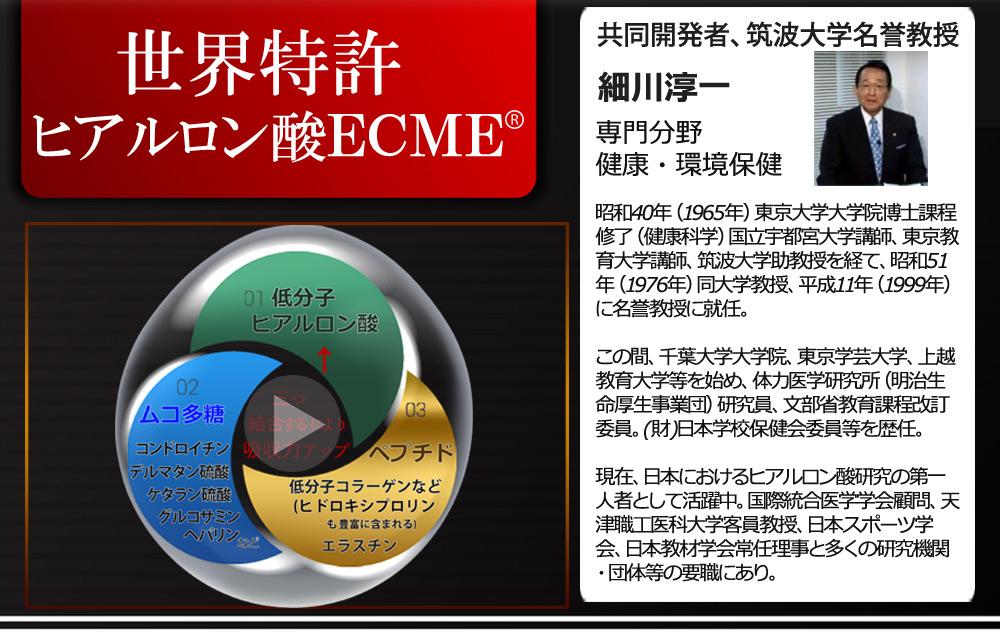 ヒアルロン酸ecm-e サプリ