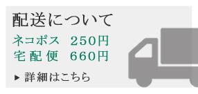 送料について ネコポス:250円、宅配便630円~