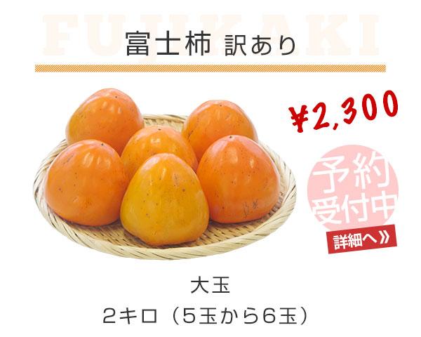 富士柿 訳あり 2キロ