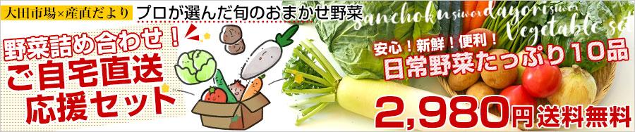 産直だよりの野菜セット