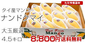 タイ産マンゴー4.5キロ