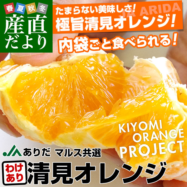 清見オレンジ 訳あり