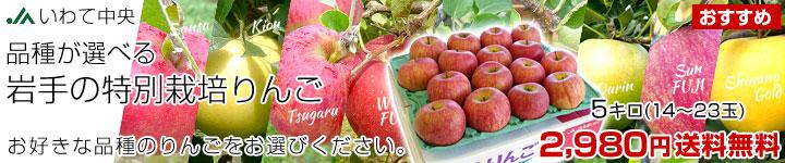 特別栽培りんご
