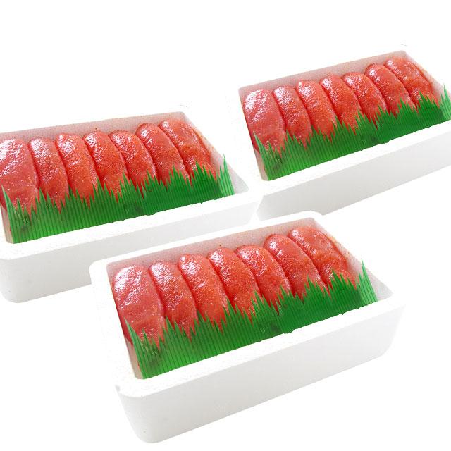 辛子明太子(1本物) 280g×3箱