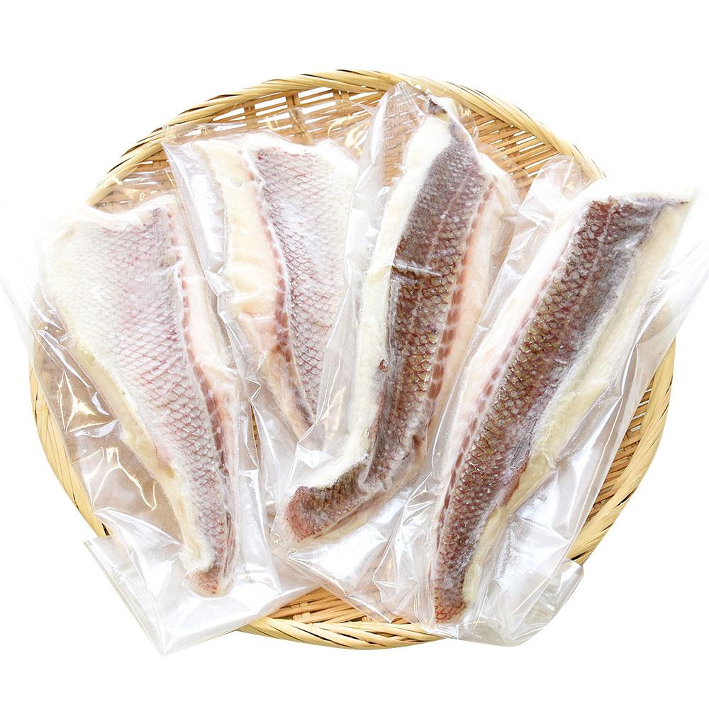天草の真鯛湯引き柚子〆1kg(4枚)