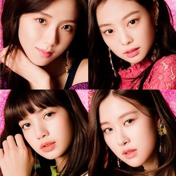 クルームのイメージモデルでアイドルグループのBLACKPINK(ブラックピンク)