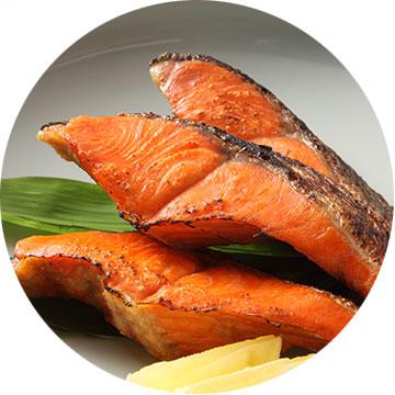 魚(鮭・ししゃも・西京漬)