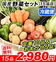 冷蔵15品目野菜