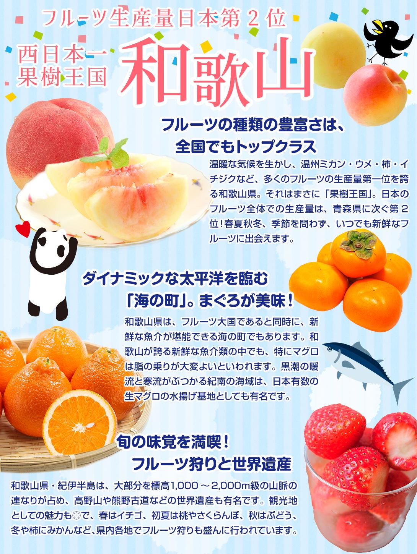 果樹王国和歌山