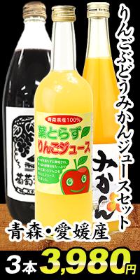 りんごみかんぶどうジュースセット