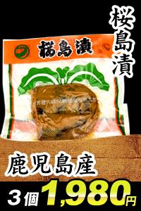 鹿児島産桜島漬