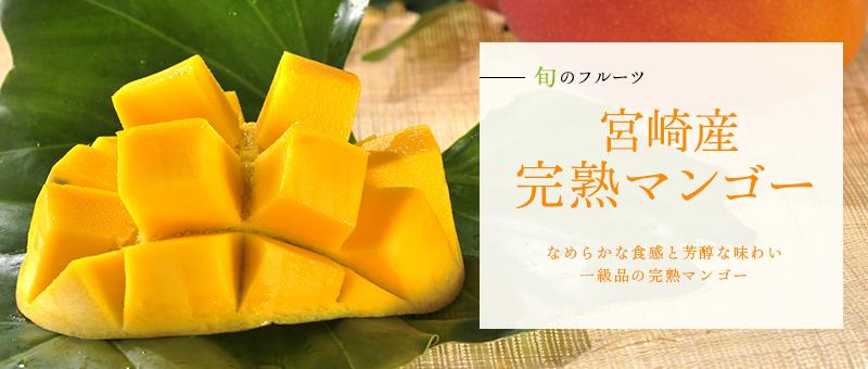 京橋千疋屋 宮崎産完熟マンゴー1玉入(4Lサイズ))