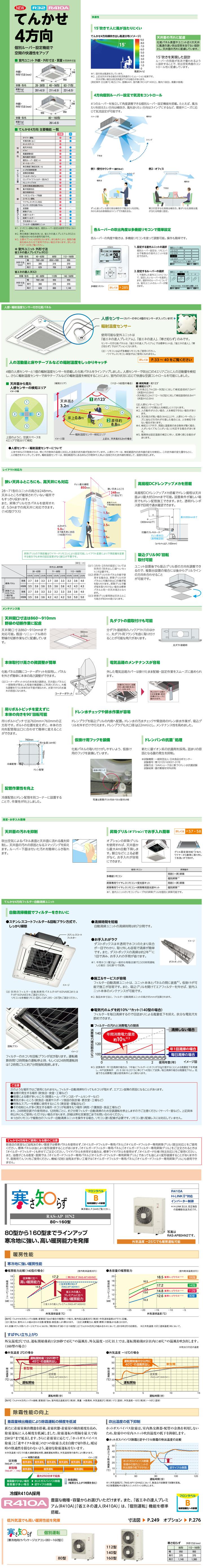 RCI-AP160HNP9カタログ