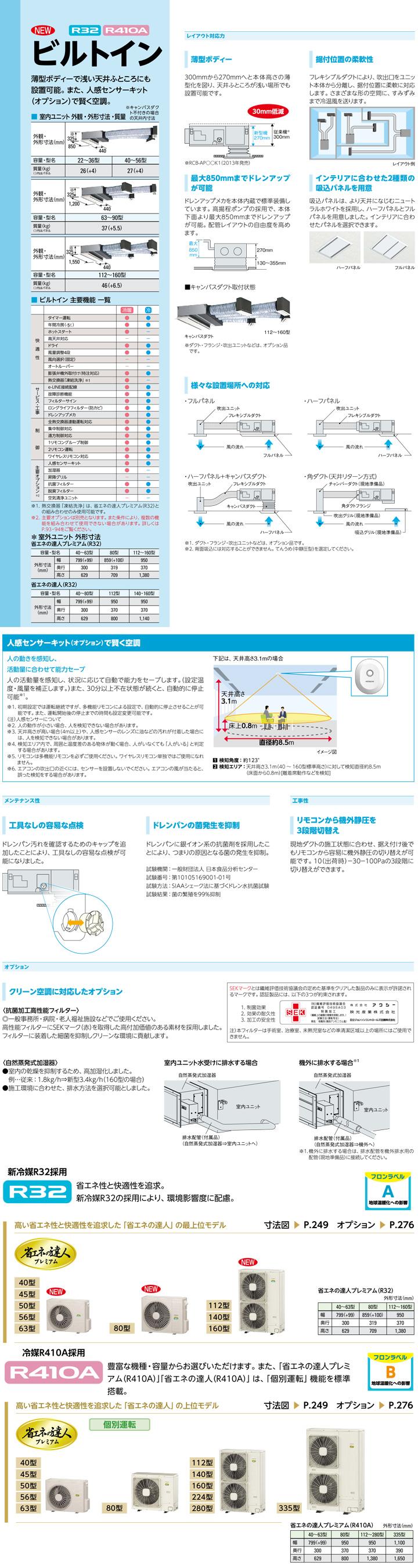 RCB-AP63GHJ7カタログ