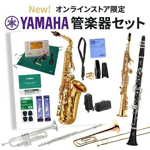 オンラインストア限定 New!ヤマハ管楽器セット