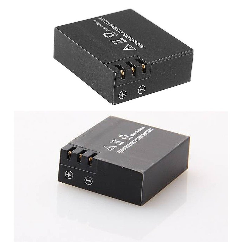 【ゆうパケット/送料無料】SJCAM/アクションカメラ/リチウムイオン/バッテリー/SJ4000、SJ5000、M10、各シリーズ対応/900mAh◇SJCAM-BAT