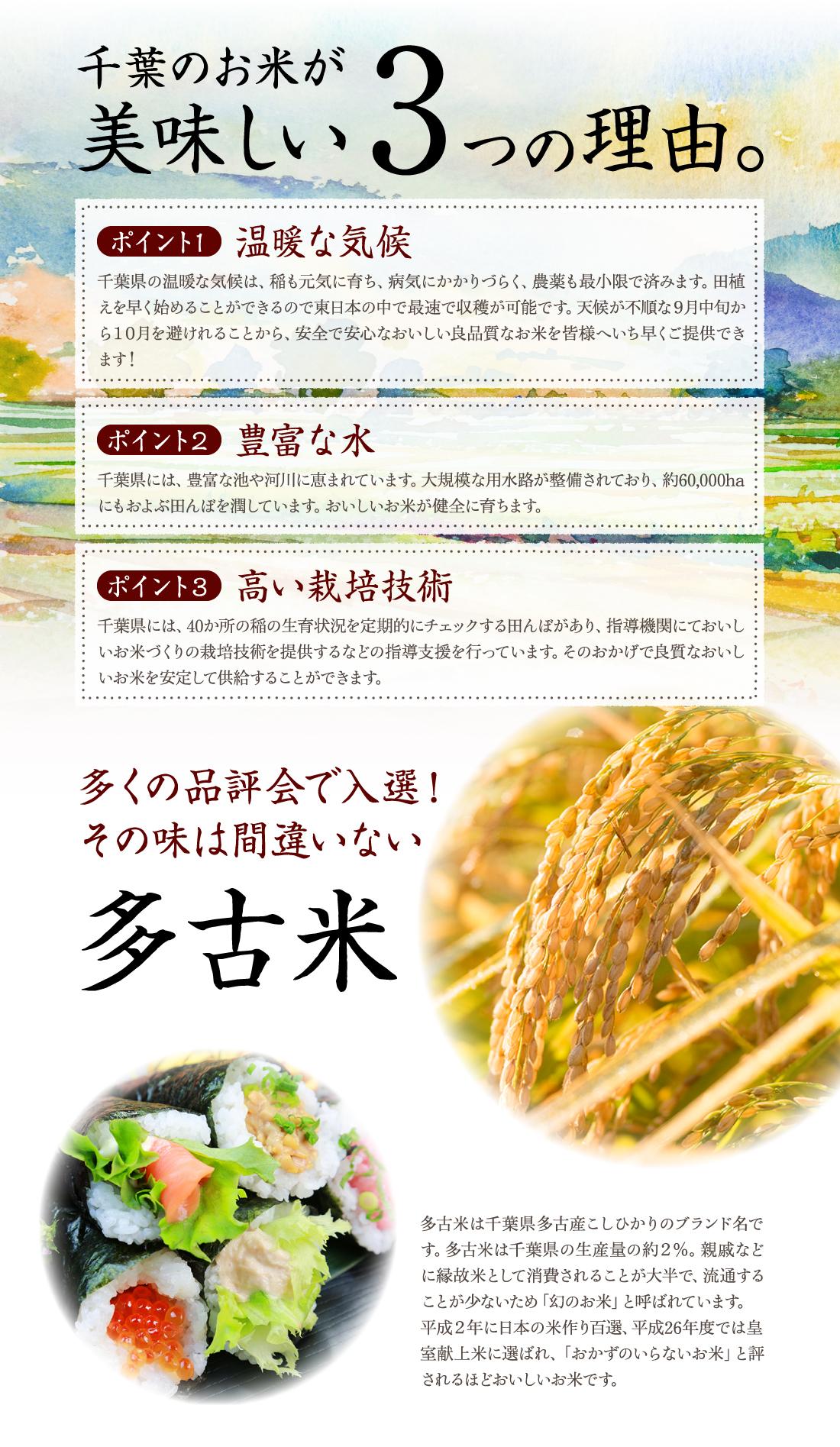 千葉のお米が美味しい3つの理由