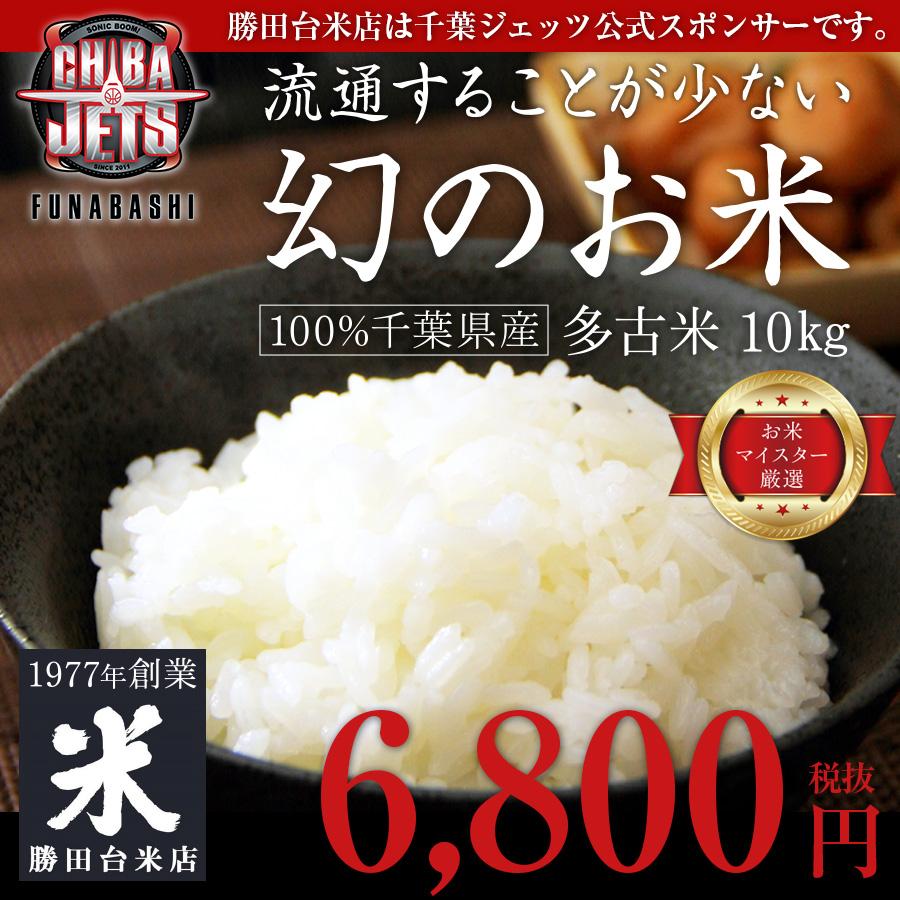 流通することが少ない幻のお米 千葉県産100% 10kg