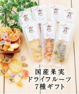 国産果実 ドライフルーツ7種ギフト