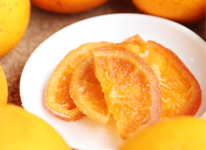 国産ドライフルーツオレンジ・清見オレンジ