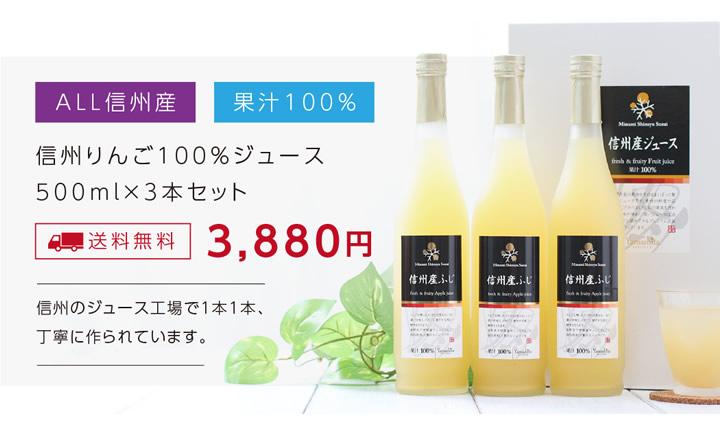 りんご100%ジュースギフトセット