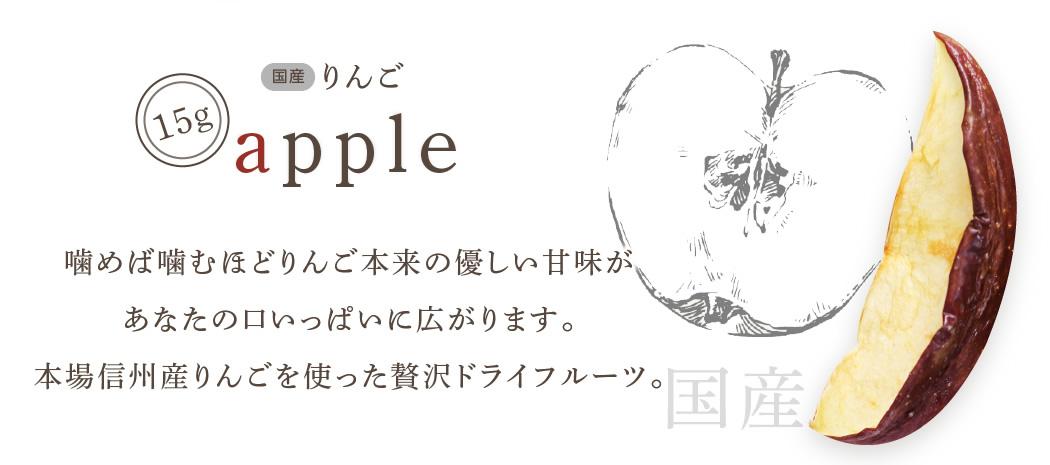 ドライフルーツ りんご