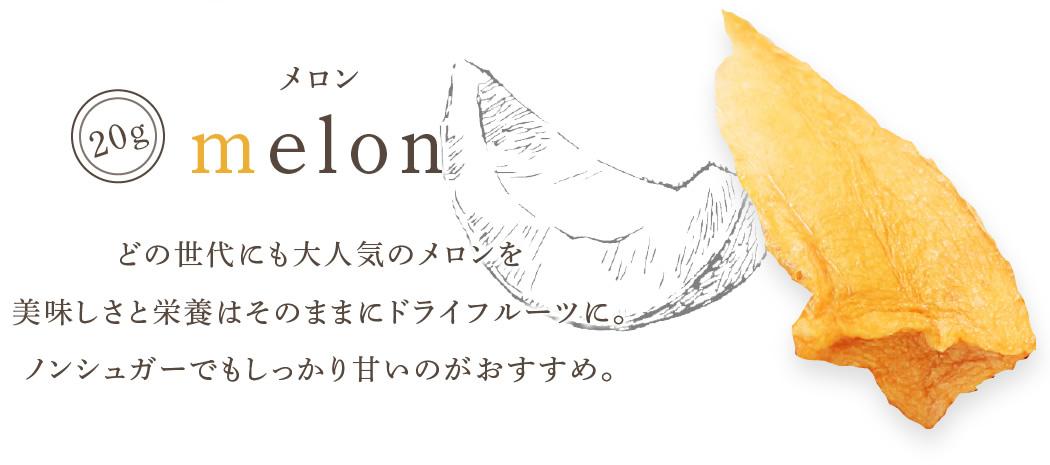 ドライフルーツ メロン