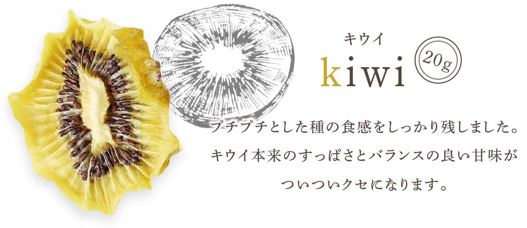 国産 ドライフルーツ キウイ