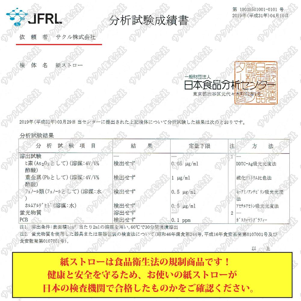 製品安全検査証明書も取得しております