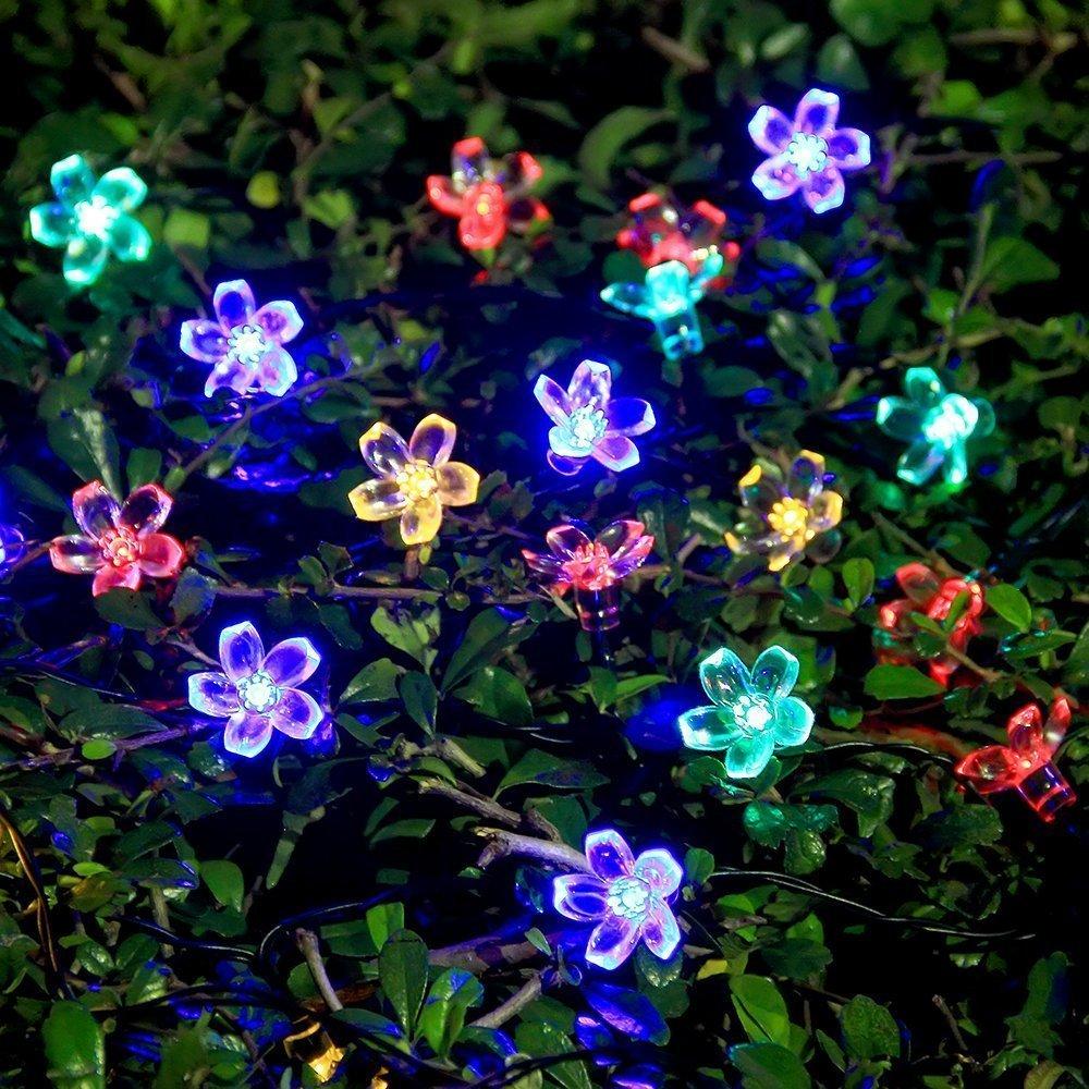 LEDイルミネーション 桜 さくら 10m 100球 ストレートライト 防雨 クリスマス ライト 電飾 飾り