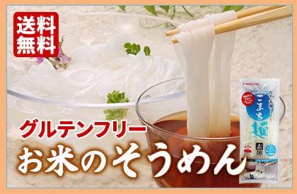 お米の素麺