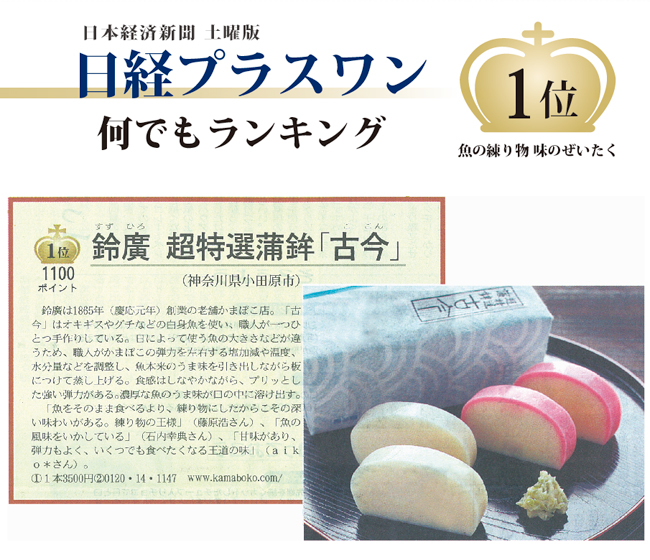 日経新聞何でもランキング第1位獲得