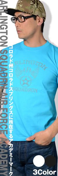 SWAT ORIGINAL(スワットオリジナル) ARLINGTON SQUADRN AIR FORCE ACADEMY メンズ 半袖 Tシャツ