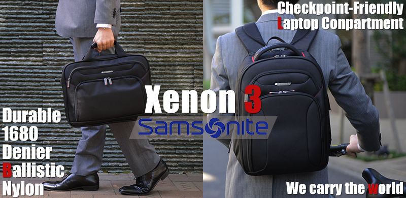 0ea958a596ed サムソナイト ビジネスリュック スリム Samsonite XENON3 Slim Backpack 89430-1041