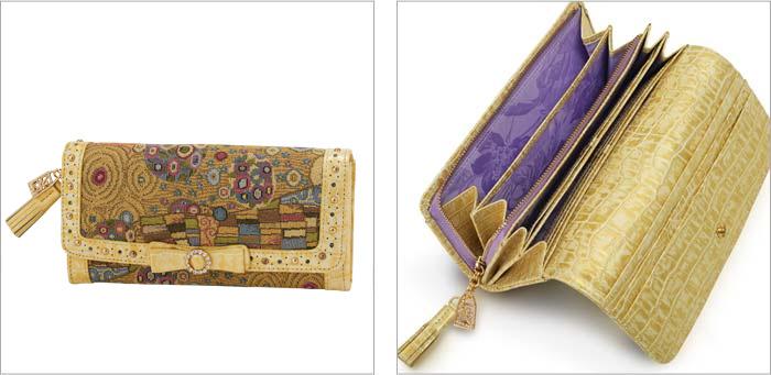ゴールデンクリムト 長財布