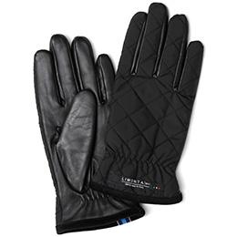 KURODA(クロダ) リモンタ 羊革 メンズ 手袋 ブラック/ブルー