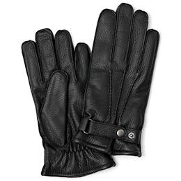 KURODA(クロダ) ディアスキン(鹿革) 手袋 ブラック