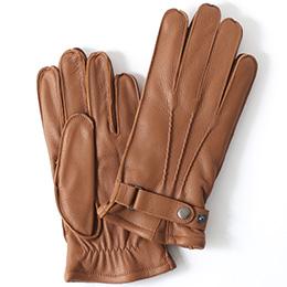 KURODA(クロダ) ディアスキン(鹿革) 手袋 キャメル