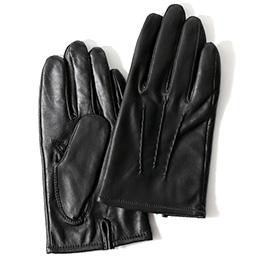 KURODA(クロダ) 羊革 メンズ 手袋 ブラック