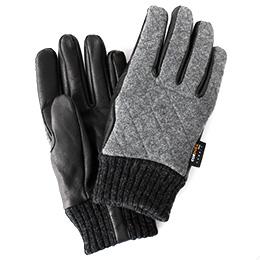 KURODA(クロダ) コーデュラ ナイロン ヤギ革 メンズ 手袋 グレー