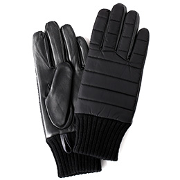 KURODA(クロダ) 羊革 リモンタナイロン メンズ 手袋 ブラック