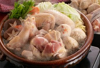 【送料込】妻地鶏 鍋セット(3〜4人前)