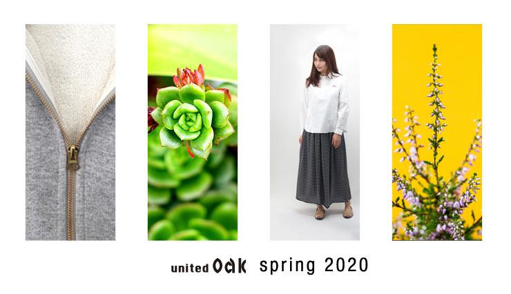 ユナイテッドオーク spring2020