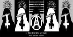 ロック、ゴシック、アンダーグラウンドシーンで活動するa disorderly school(ア・ディスオーダリー・スクール)