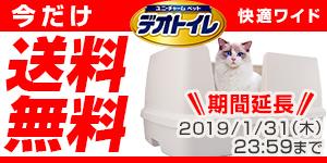今だけ送料無料デオトイレ快適ワイド
