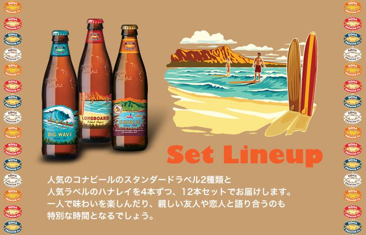 Set Lineup