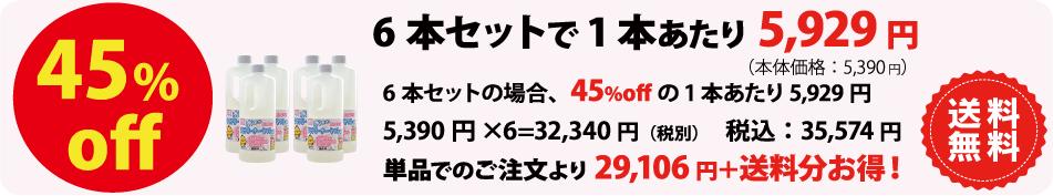 テラクリーナーヤマト6本