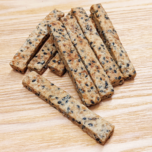 米粉と胡麻のクッキー